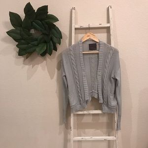 [Anthropologie] Guinevere Gray Cardigan Sweater